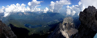 Zugspitze (9,718ft), Germany